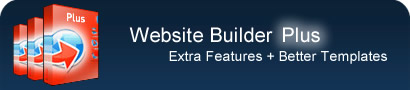 website builder header
