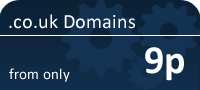 .co.uk Domains from only 9p