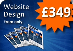 Web Design from only £349